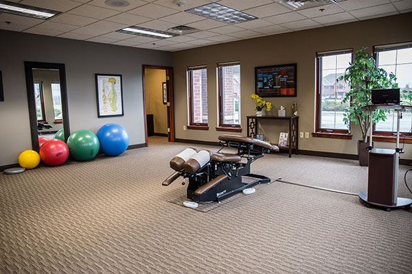 Chiropractic Brookfield WI Rehab Area